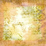 Soft sophisticated apricot grungy background. With copyspace stock photo