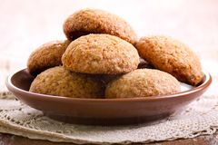 Soft spicy brown sugar cookies Stock Photography