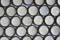 A soft sponge in the bottle cap Stock Images