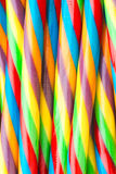 Soft sticks colored licorice Royalty Free Stock Images
