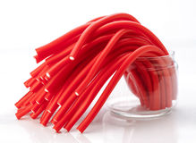 Soft sticks colored licorice Royalty Free Stock Photography