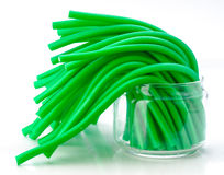Soft sticks tangle licorice Royalty Free Stock Photos
