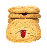 Soft strawberry cookies Stock Photo