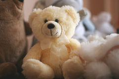 Soft Stuffed Teddy Bear Toy Royalty Free Stock Photos