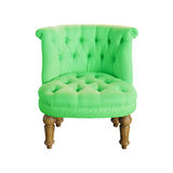Soft stylish chair Royalty Free Stock Images