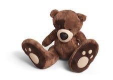 Soft teddy bear for Valentine's day Stock Photo