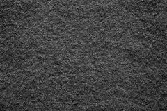 Soft texture felt fabric of black color Royalty Free Stock Image