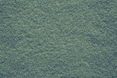 Soft texture felt fabric of green color Royalty Free Stock Images