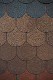 Soft tile for the roofs Royalty Free Stock Photo