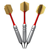 Soft tip darts Royalty Free Stock Image