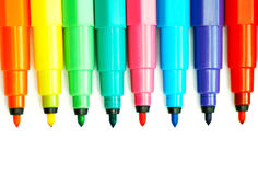 Soft-tip pen Stock Images