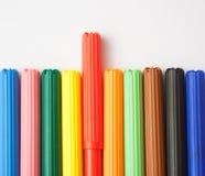 Soft-tip Pens Stock Image