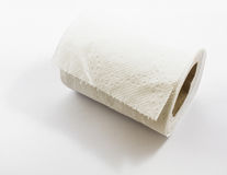 Soft Toilet Paper Isolated Stock Images