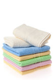 Soft towels Stock Photo