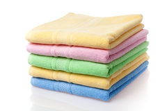 Soft towels Stock Image
