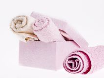 Soft towels Royalty Free Stock Photo