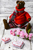 Soft toy bear Royalty Free Stock Image