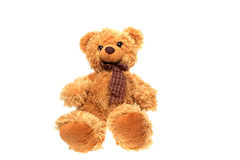 Soft toy brown bear Royalty Free Stock Photography