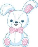 Soft toy bunny Royalty Free Stock Images