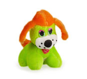 Soft toy dog. ​​isolated on white background Royalty Free Stock Photos