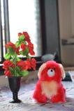Soft toy dog Royalty Free Stock Image