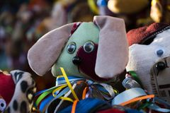 Soft toy dog Royalty Free Stock Images