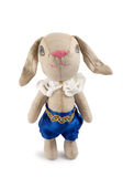 Soft toy hare Royalty Free Stock Photos