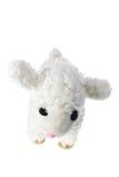Soft Toy Lamb. On White Background royalty free stock photos