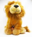 Soft toy - a lion  Royalty Free Stock Images