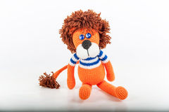 Soft toy lion Stock Photo