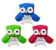 Soft Toy Owls Stock Photography