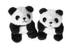 Soft Toy Pandas Royalty Free Stock Images