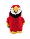 Soft toy parrot Stock Photos