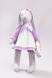 Soft toy rabbit Royalty Free Stock Images