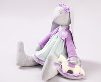 Soft toy rabbit Stock Image