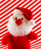 Soft Toy Santa with Red Nose Stock Image
