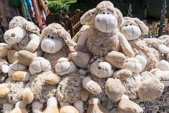 Soft toy sheep Stock Image