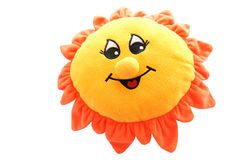 Soft toy sun Stock Image
