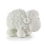 Soft Toy White Lamb Stock Image