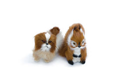 The soft toys Royalty Free Stock Photos