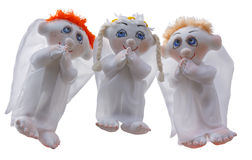 Soft toys angel Royalty Free Stock Image