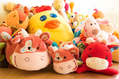 Soft toys Royalty Free Stock Photo