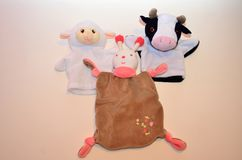 Soft toys for newborn babies Stock Image