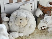 Soft toys Royalty Free Stock Photos