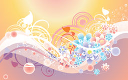 Soft vector background Royalty Free Stock Images