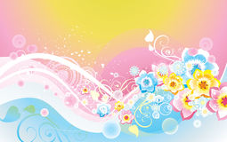 Soft vector background Stock Photography