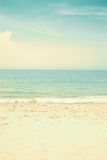 Soft Vintage Beach Royalty Free Stock Images
