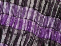 Beautiful violet fabric texture. Soft  violet and black colors  fabric texture suitable as background Royalty Free Stock Images
