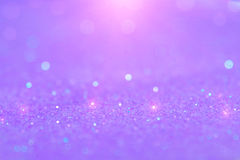 Soft violet or purple bokeh light is the soft blurred circles of royalty free stock photos