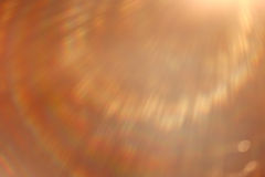 Soft warm light rays Stock Image